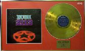 RUSH  -  Gold Disc LP and Cover   -2112
